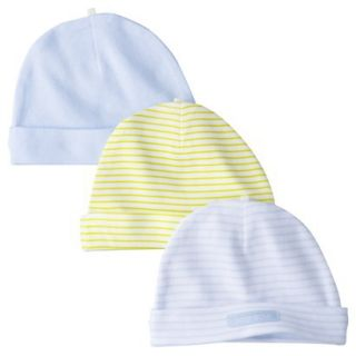 Just One YouMade by Carters Newborn Boys 3 Pack Hats   Blue