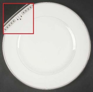Wedgwood Sloane Square Dinner Plate, Fine China Dinnerware   London Collection,P