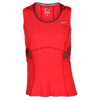 Nike Women`s Power Tennis Tank Large 676_Fusion_Red