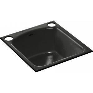 Kohler K 5848 2U FP NAPA Under Mount Bar Sink With 2 Oversize Faucet Holes