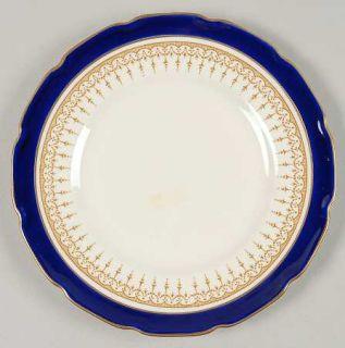 Royal Doulton Duke Of York Blue Bread & Butter Plate, Fine China Dinnerware   Bl