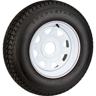 High Speed Radial Trailer Tire Assembly, Spoked, ST175/80R 13