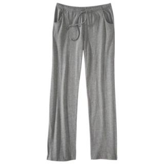 Gilligan & OMalley Womens Fluid Knit Pant   Heather Grey M Long