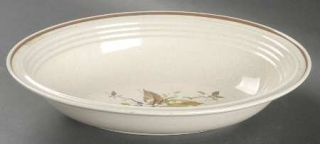 Royal Doulton Wild Cherry 10 Oval Vegetable Bowl, Fine China Dinnerware   Lambe