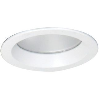 Elco Lighting EL5224W LED Downlight Trim, 5 Reflector White with Frosted Lens