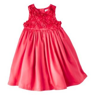 Just One YouMade by Carters Newborn Girls Rosette Dress   Strawberry 4T