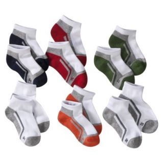 Boys Cherokee Multicolor 6 pair Low Cut Socks 3 10