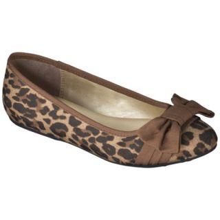 Girls Cherokee Kendrix Ballet Flat   Leopard 3