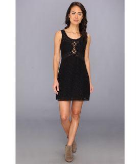 Free People Daisy Chain Shift Dress Womens Dress (Black)