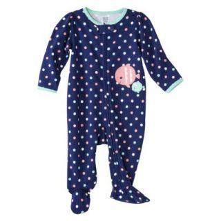 Just One YouMade by Carters Newborn Girls Sleep N Play   Purple/Lt Turq 6 M