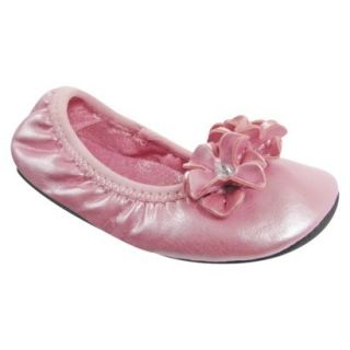 Toddler Girls Natural Steps Center Ballet Flat   Pink 10