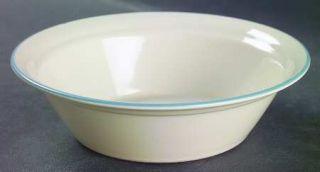 Corning Coastal Breeze Soup/Cereal Bowl, Fine China Dinnerware   Corelle,Blue&Gr