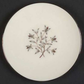 Lenox China Princess Bread & Butter Plate, Fine China Dinnerware   Gray & Tan Fl
