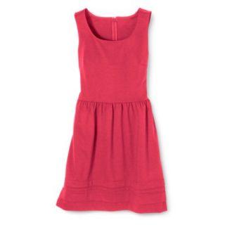 Merona Womens Ponte Dress   Blazing Coral   M