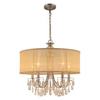 Crystorama Hampton Polished Brass Light 5625 AB Multicolor   5625 AB