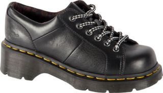 Womens Dr. Martens Keani Lace to Toe Shoe   Black Polished Inuck Casual Shoes