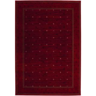 Everest Gridiron/ Crimson Rug (311 X 53) (CrimsonSecondary colors: Black, rose rud, sage, sahara tanPattern: GeometricTip: We recommend the use of a non skid pad to keep the rug in place on smooth surfaces.All rug sizes are approximate. Due to the differe