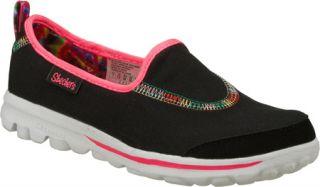 Infant/Toddler Girls Skechers GOplay   Black/Multi Vegetarian Shoes