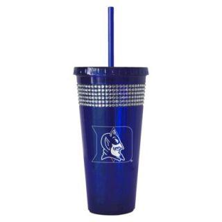 Boelter Brands NCAA 2 Pack Duke Blue Devils Bling Double Walled Tumbler with