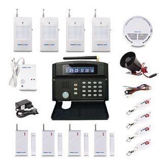 GSM Wireless Home Security System Alarm Auto Dial 24 Wireless Zone