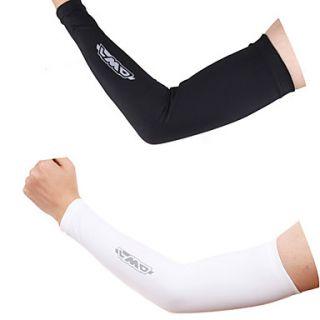 82% Nylon Mens Protective Cycling Arm Sleeve