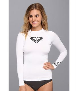 Roxy Whole Hearted L/S Surf Shirt Womens Swimwear (White)