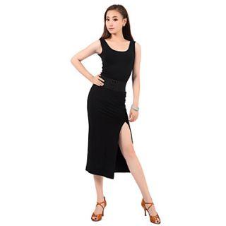 Ballroom Dancewear Cotton Latin Dance Dress for Ladies