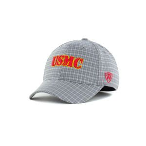 U.S. Marine Corps Bulldogs Top of the World NCAA Plaidee One Fit Cap