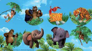 The Jungle Book Small Lollipop Sticker Sheet