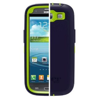 Otterbox Defender Cell Phone Case for Samsung Galaxy S III   Dark Blue (77