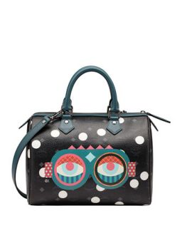 Craig & Karl Beyond Snowdome Boston Satchel Bag   MCM