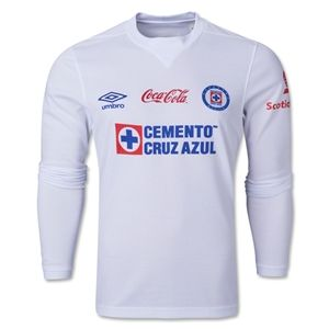 Umbro Cruz Azul 13/14 LS Away Soccer Jersey
