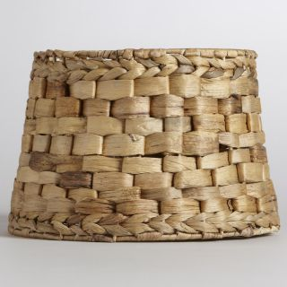 Natural Basket Accent Lamp Shade   World Market