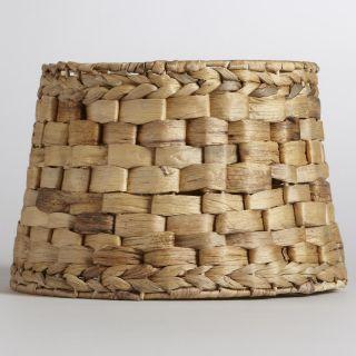 Natural Basket Accent Lamp Shade   World Market