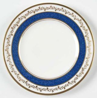 Coalport Cardova Cobalt Blue Bread & Butter Plate, Fine China Dinnerware   Cobal