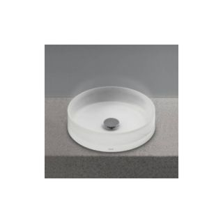 Toto LLT150 61 Universal Epoxy Resin Round Vessel Lavatory