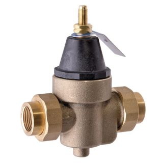Watts 3/4 LFN45BM1DUS Valve, 3/4 Pressure Reducing NPT Threaded Double Union Solder Union Female Inlet x NPT Female Outlet Lead Free
