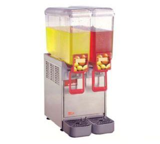 Grindmaster   Cecilware Arctic Compact Beverage Dispenser, Twin 2.2 gal Capacity