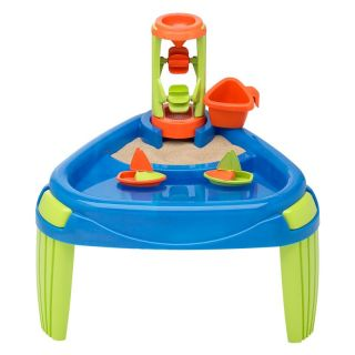 American Plastic Toys Sand and Water Wheel Play Table Multicolor   16500