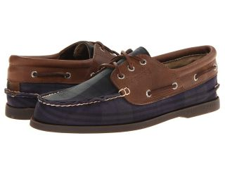 Sperry Top Sider A/O 3 Eye Padded Collar Mens Lace up casual Shoes (Black)