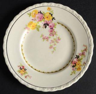 Myott Staffordshire Rosita Bread & Butter Plate, Fine China Dinnerware   Pink &